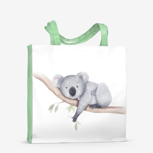 Сумка-шоппер «коала»