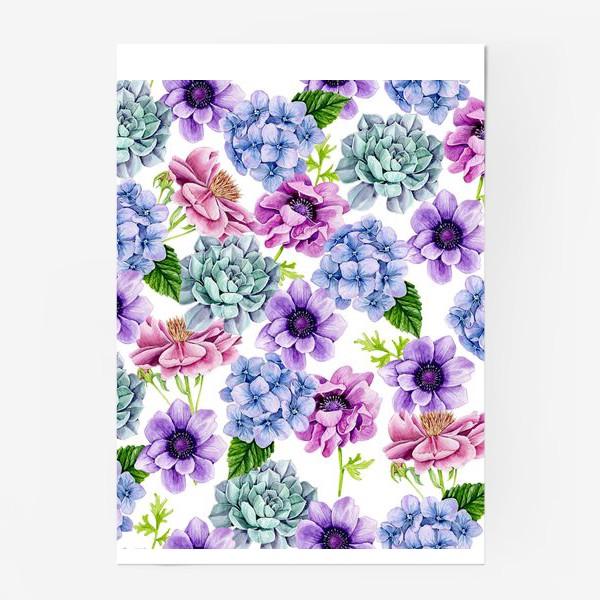 Постер «Flower Buds»