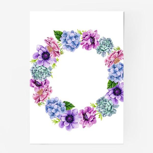 Постер «Flower Buds 4»