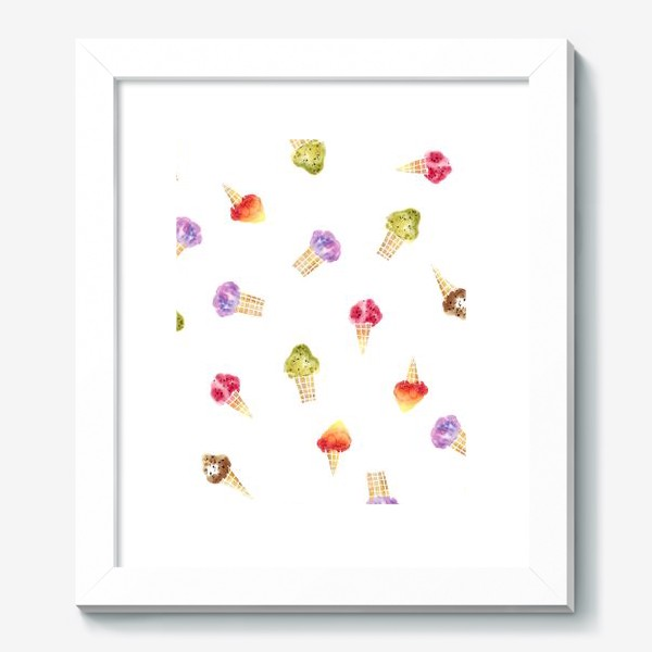 Картина «Мороженое Акварель 2»
