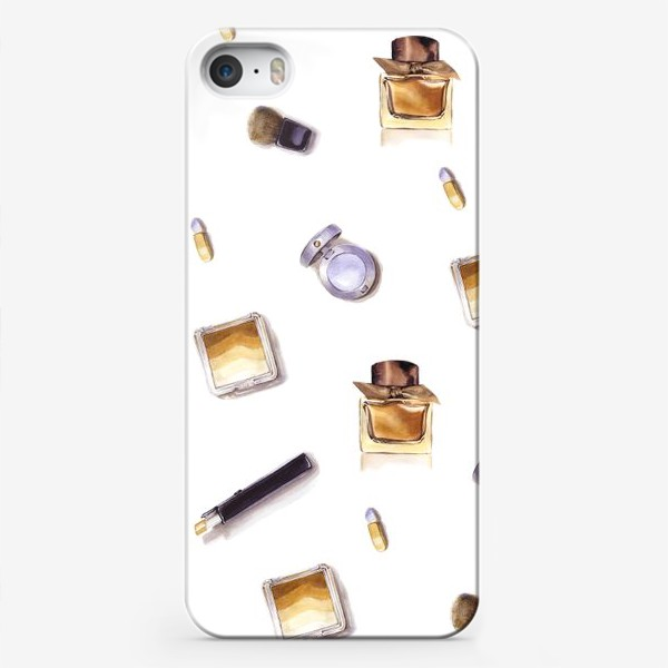 Чехол iPhone «Набор Косметики»