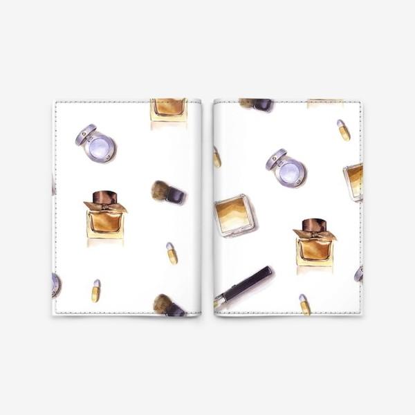 Обложка для паспорта «Набор Косметики»