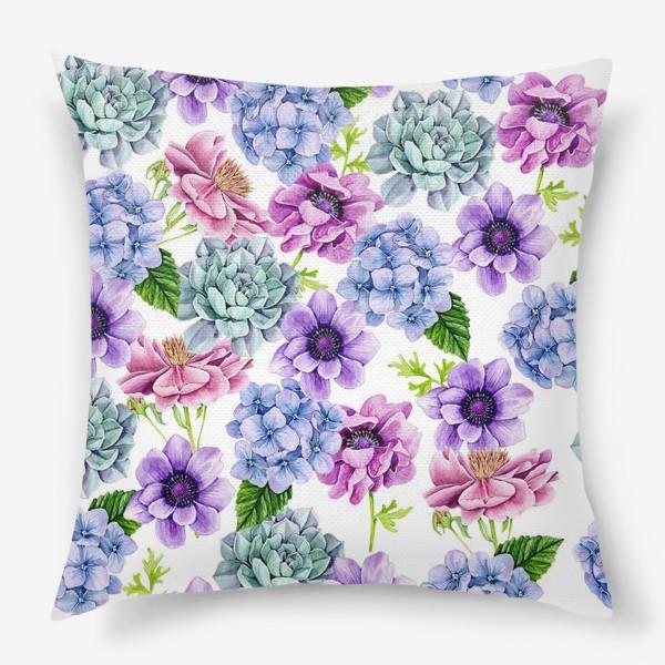 Подушка «Flower Buds»