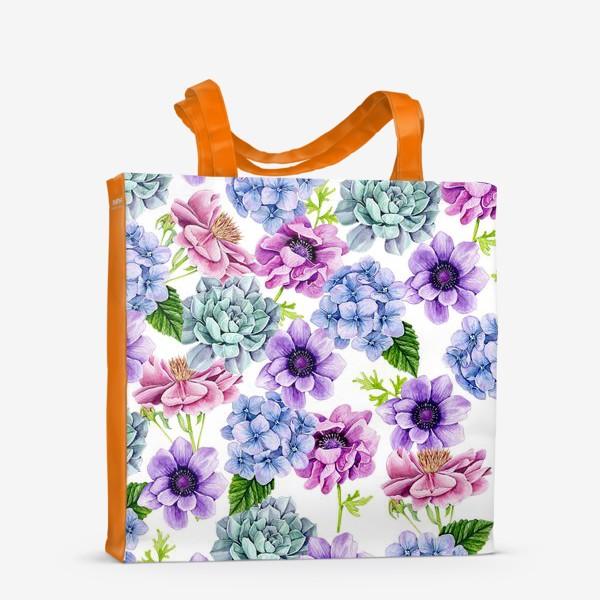 Сумка-шоппер «Flower Buds»