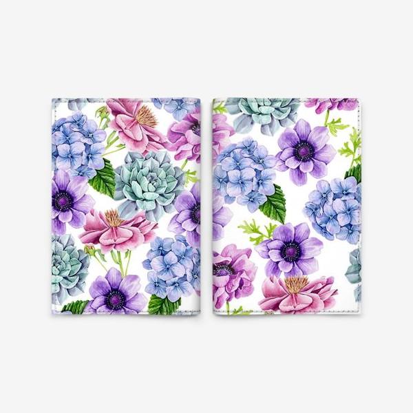 Обложка для паспорта «Flower Buds»