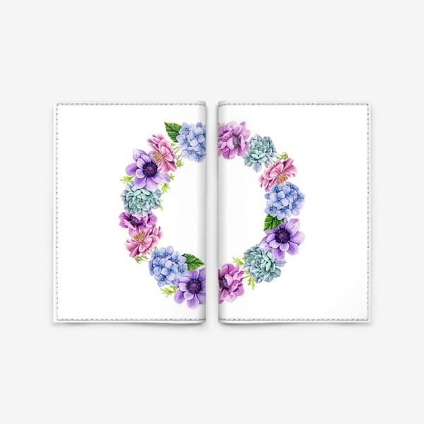 Обложка для паспорта «Flower Buds 4»
