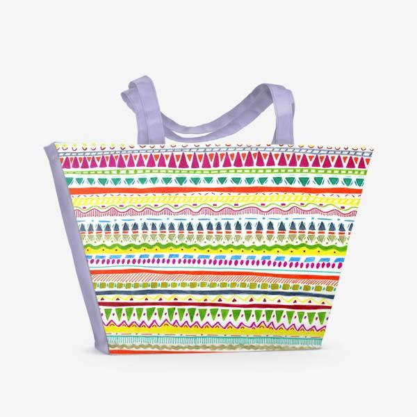Пляжная сумка «инди»