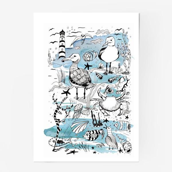 Постер «чайки»