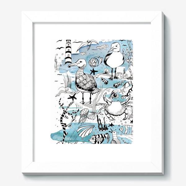 Картина «чайки»