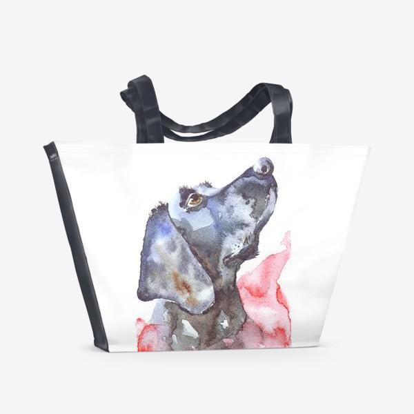 Пляжная сумка «Серебряный призрак»