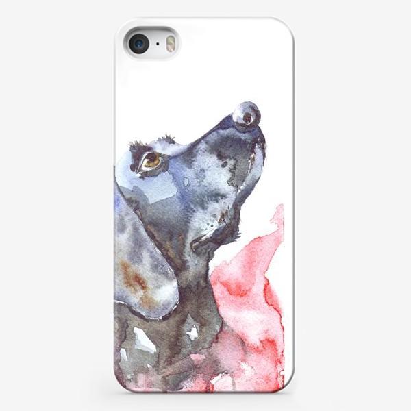 Чехол iPhone «Серебряный призрак»