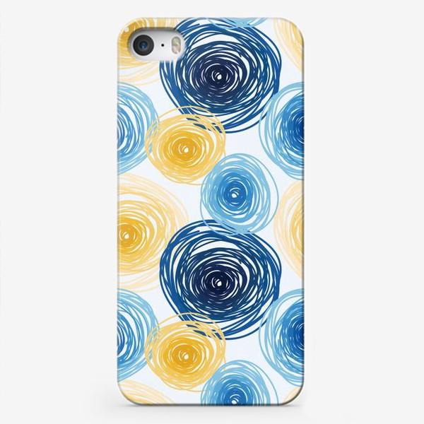 Чехол iPhone «Pattern Van Gogh style»