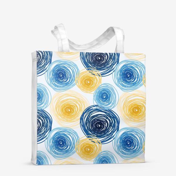 Сумка-шоппер «Pattern Van Gogh style»