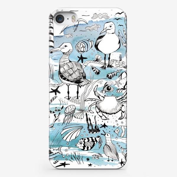 Чехол iPhone «чайки»