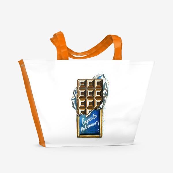 Пляжная сумка «ШОКОЛАДКА»