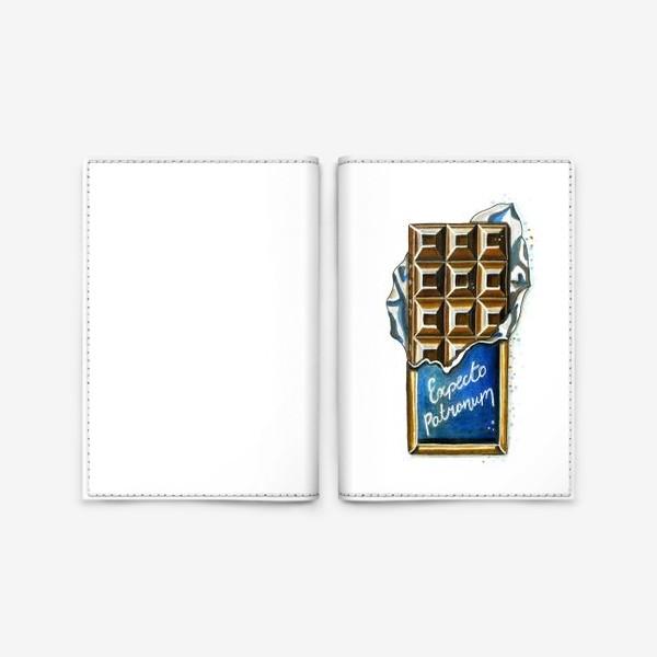 Обложка для паспорта «ШОКОЛАДКА»