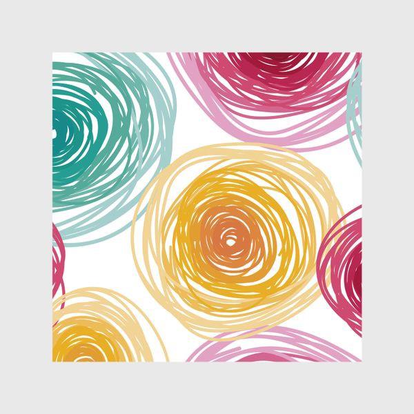 Шторы «Цветные круги»