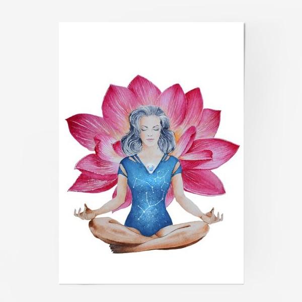 Постер «Лотос. Медитация»