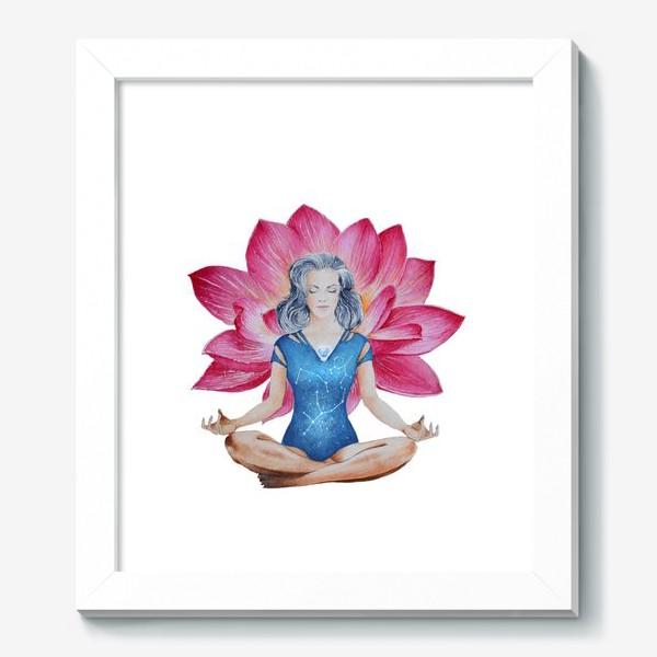 Картина «Лотос. Медитация»
