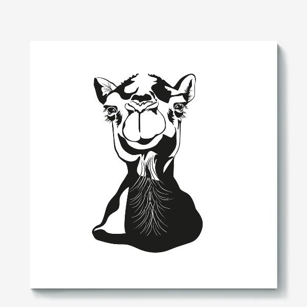 Холст «Верблюжонок»