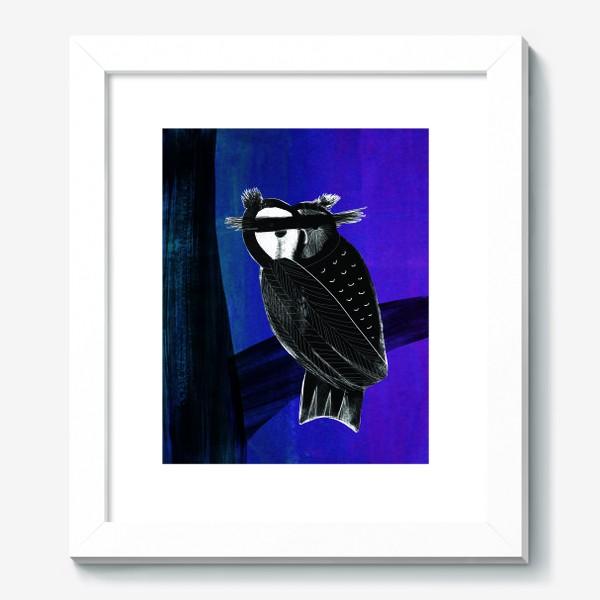 Картина «сова»