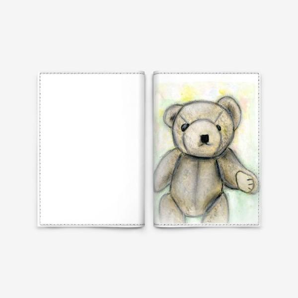 Обложка для паспорта «Мишка»