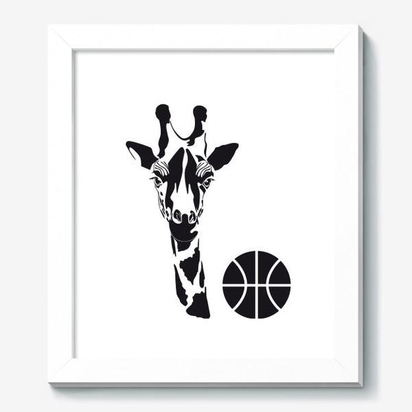 Картина «Жираб-баскетболист»