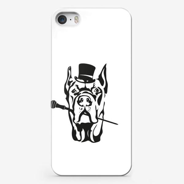 Чехол iPhone «Джентельмен»