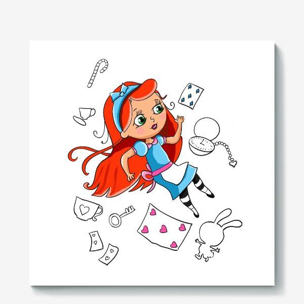 Холст «Алиса»