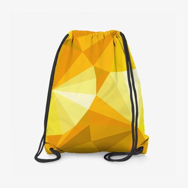 Рюкзак «Солнечные зонты в стиле Low poly»