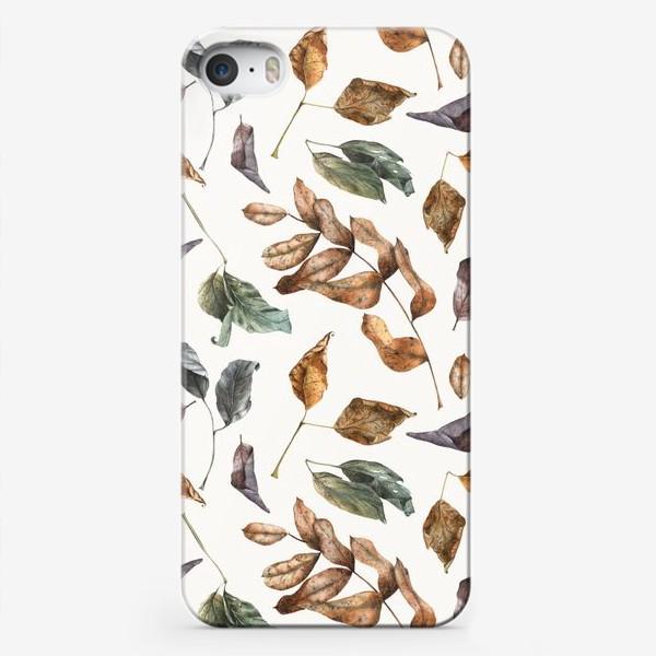 Чехол iPhone «Осенний лес - 2»