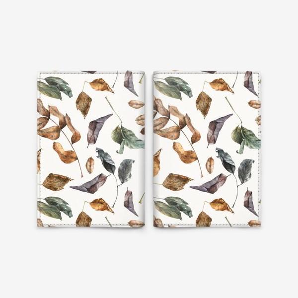 Обложка для паспорта «Осенний лес - 2»