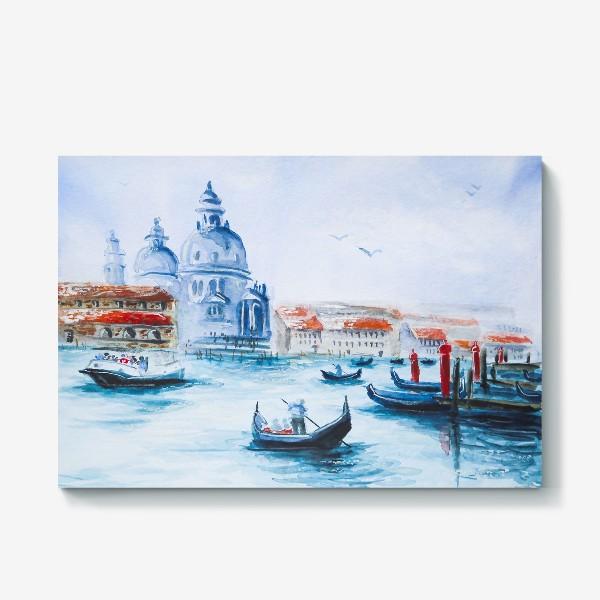 Холст «Венеция, лодки»