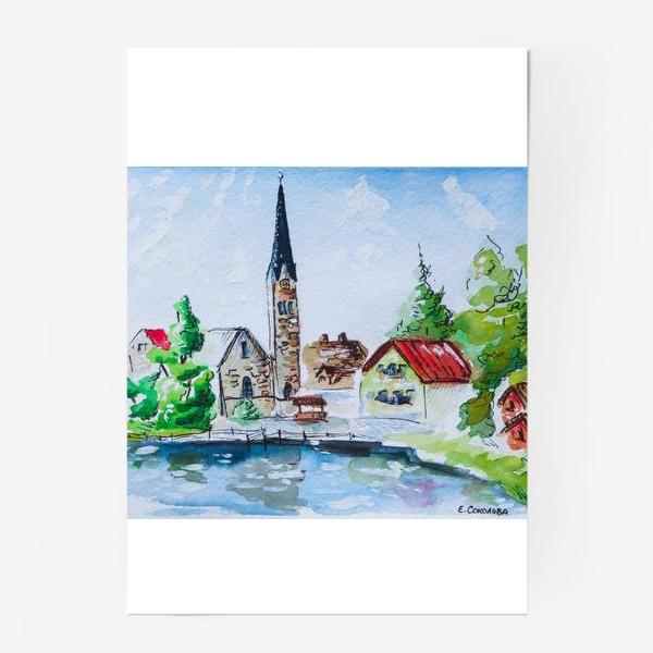 Постер «Австрийский пейзаж»