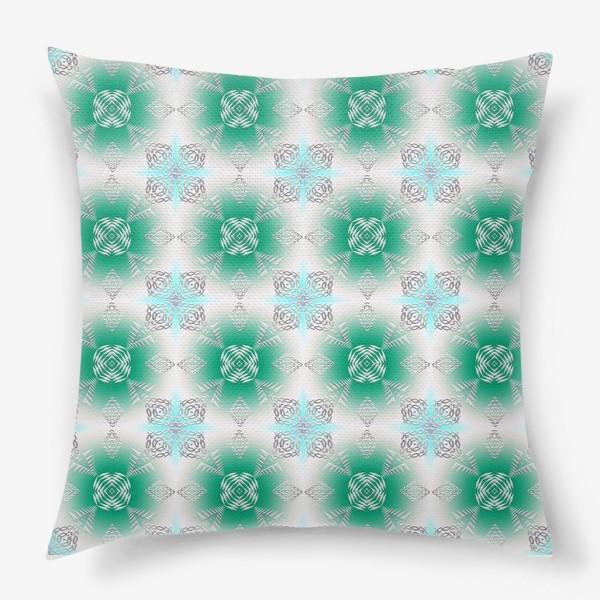 Подушка «ethnic pattern»