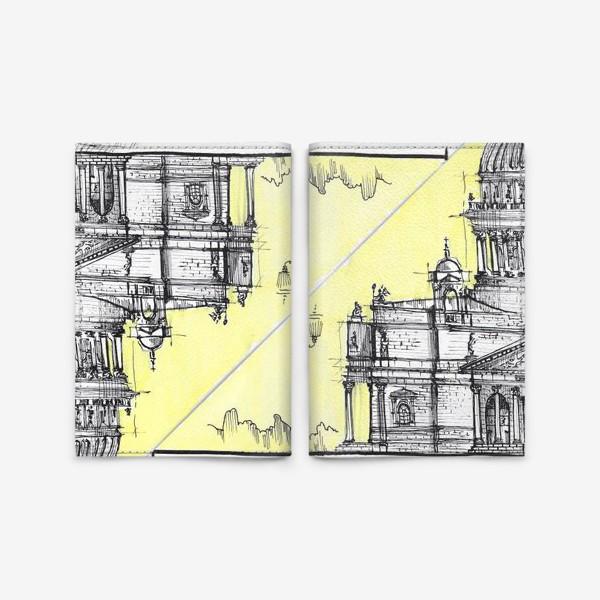Обложка для паспорта «Петербург Исаакиевский собор»
