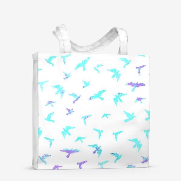 Сумка-шоппер «Птицы»