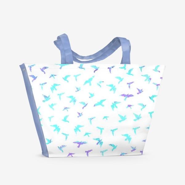 Пляжная сумка «Птицы»