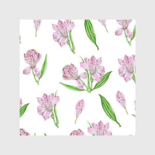 Скатерть «Alstroemeria pattern»