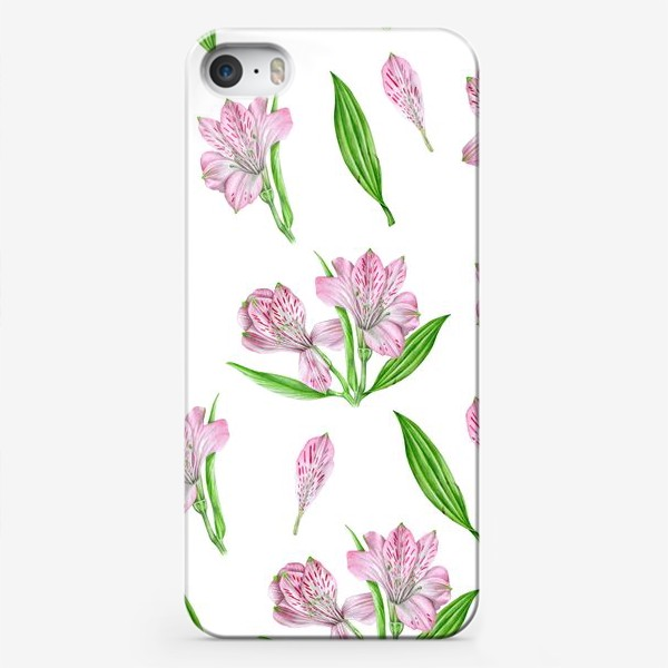 Чехол iPhone «Alstroemeria pattern»