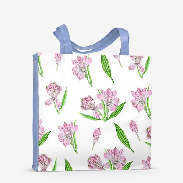 Сумка-шоппер «Alstroemeria pattern»