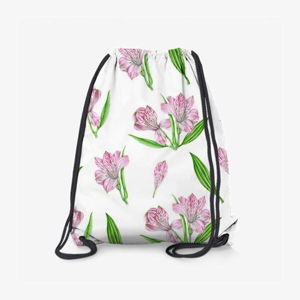 Рюкзак «Alstroemeria pattern»