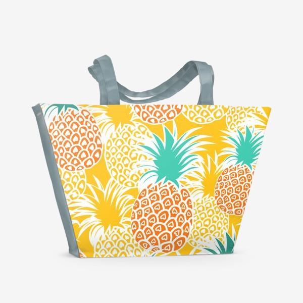 Пляжная сумка «Ананасовый рай»