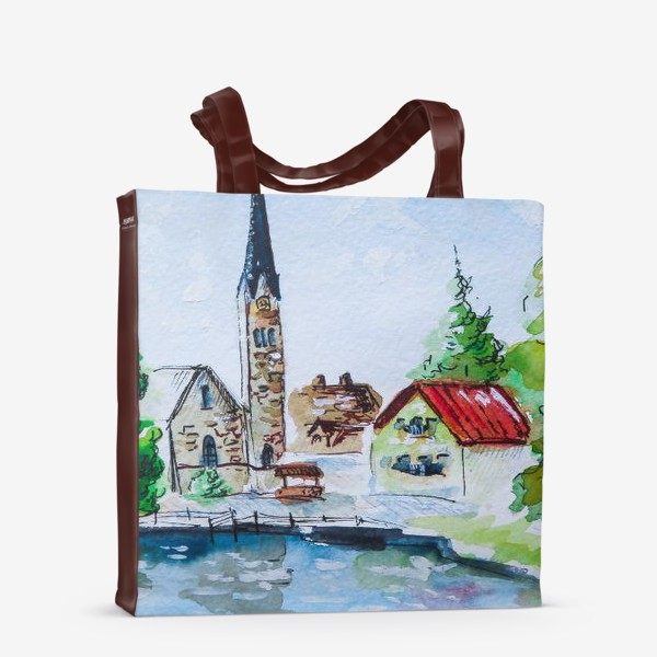 Сумка-шоппер «Австрийский пейзаж»