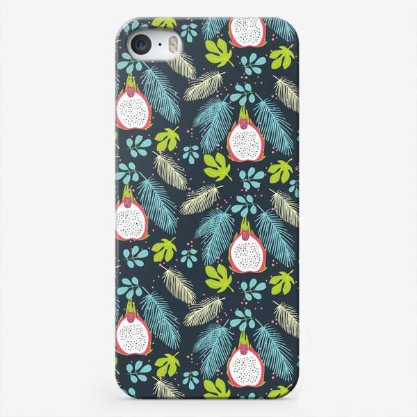 Чехол iPhone «Питая в синих листьях»