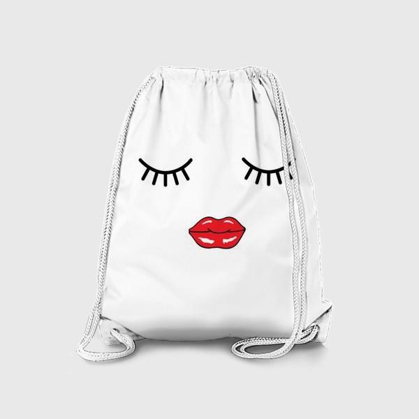 Рюкзак «Женское лицо»