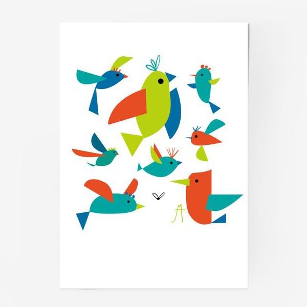 Постер «пташки»