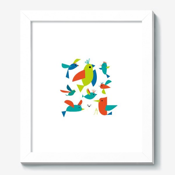 Картина «пташки»