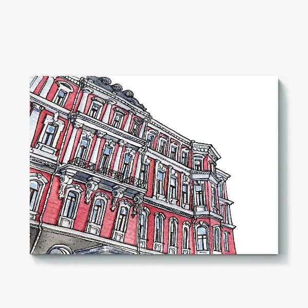 Холст «Питерская архитектура / Неоклассицизм / Эклектика Санкт Петербурга»