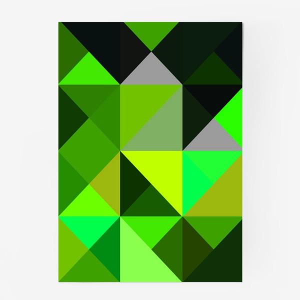 Постер «зелень»
